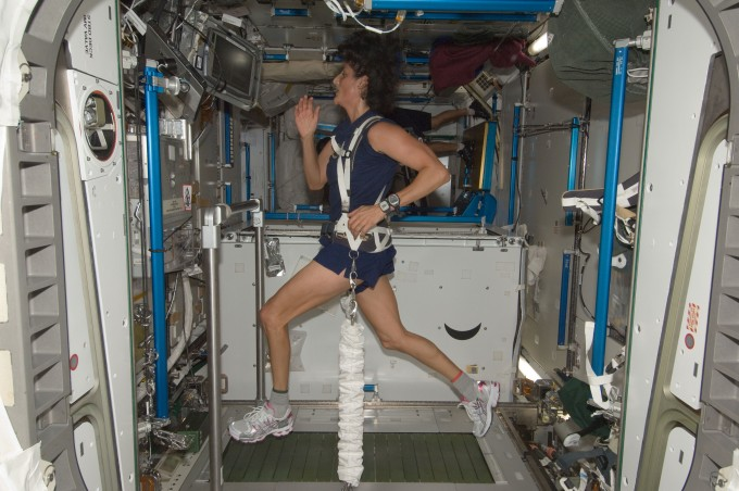 sunita williams triathlon in space