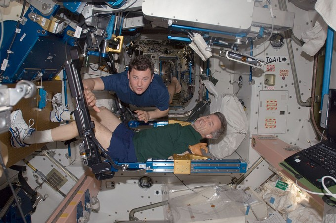 ARED machine in space NASA